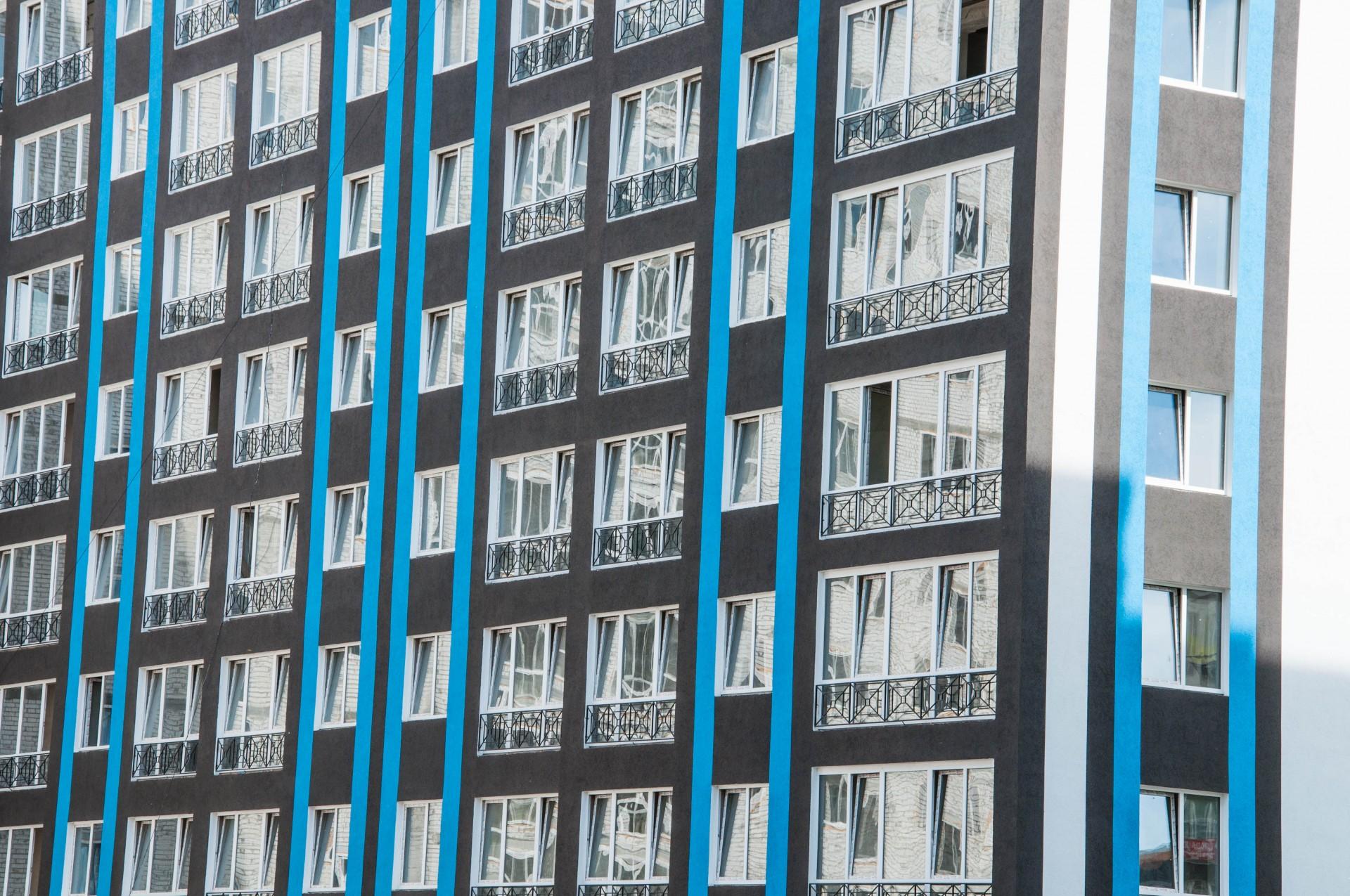 Остекление жилого комплекса, 2018